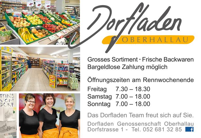 Dorfladen Oberhallau Inserat